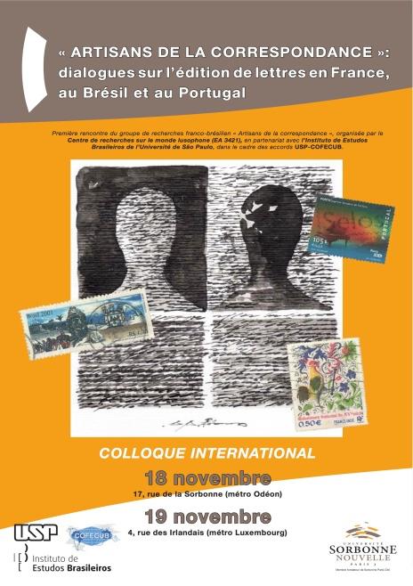 Affiche artisans de la correspondance 2013